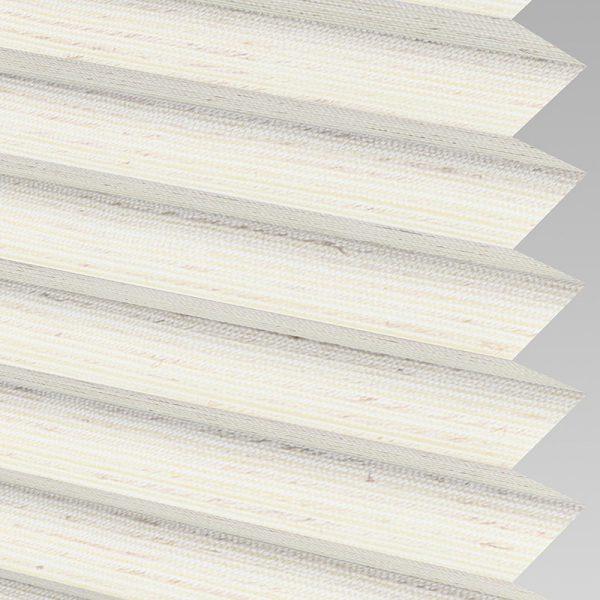 Mineral ASC Ivory Pleated Blind
