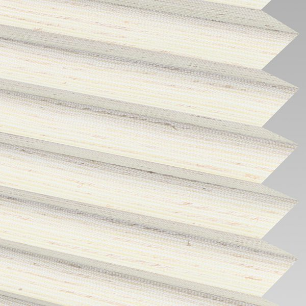 Mineral ASC Cream Pleated Blind