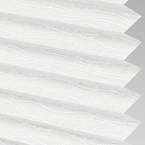 Luxe ASC Snowdrop Pleated Blind