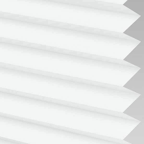 Infusion White Pleated Blind