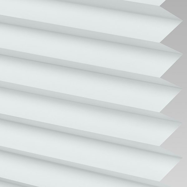 Galaxy ASC Blackout White Pleated Blind