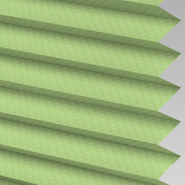 Grid Moss Pleated Blind