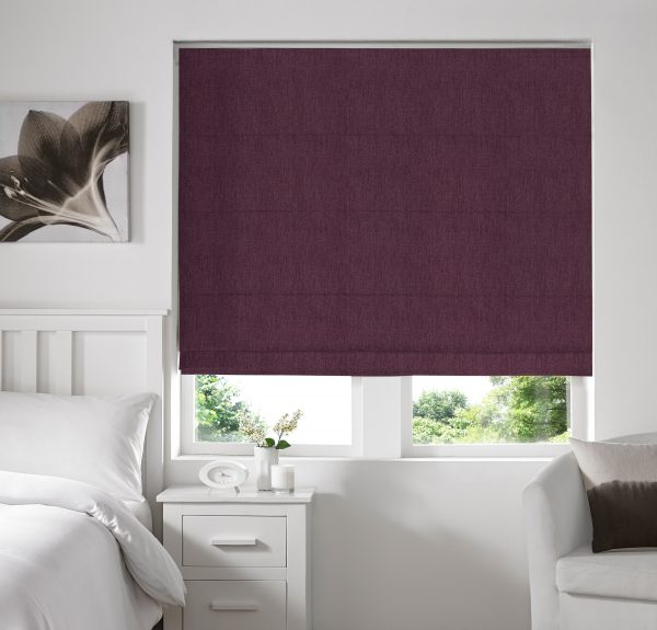 Skipton Berry Roman Blind with Standard Lining