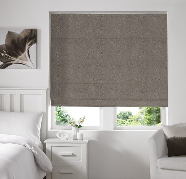 Hexham Otter Roman Blind with Standard Lining