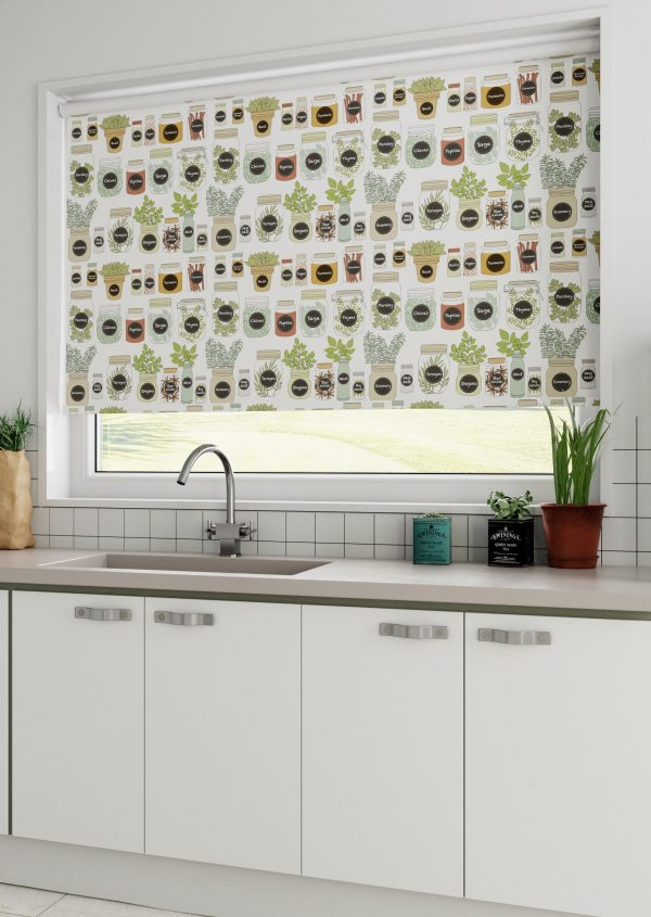 Herbs and Spices Roller Blind