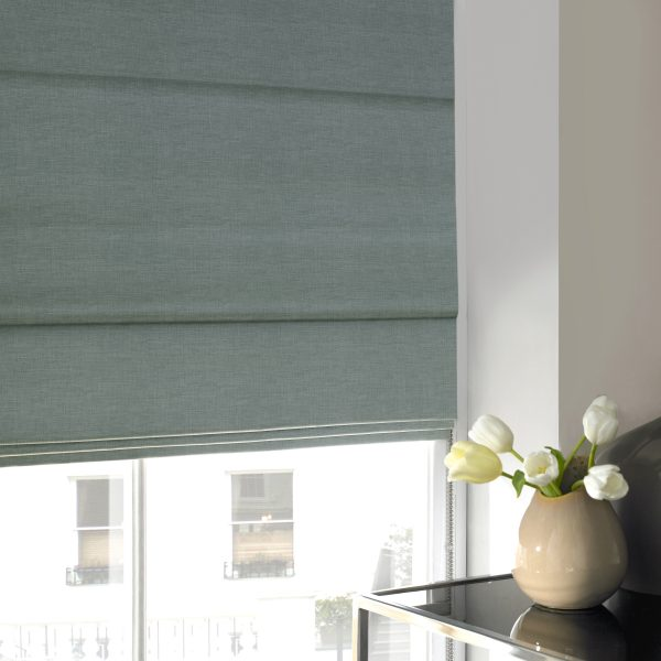Stamford Mineral Roman Blind with Standard Lining