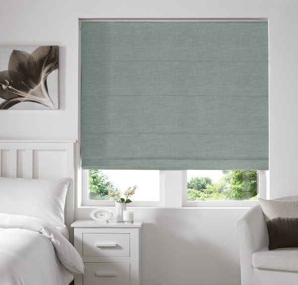 Stamford Spa Roman Blind with Blackout Lining