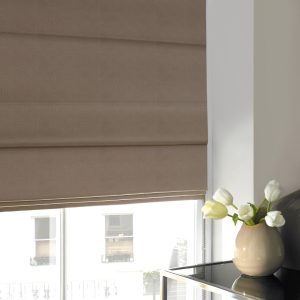 Beverley Sunshine Roman Blind with Standard Lining